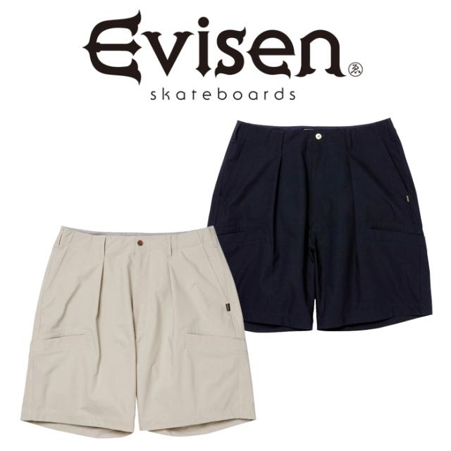 【EVISEN】 Evisen Skateboards (エヴィセン スケートボード)  RIVER JUMP SHORTS  【ショーツ 短パン】【エビセン スケートボード