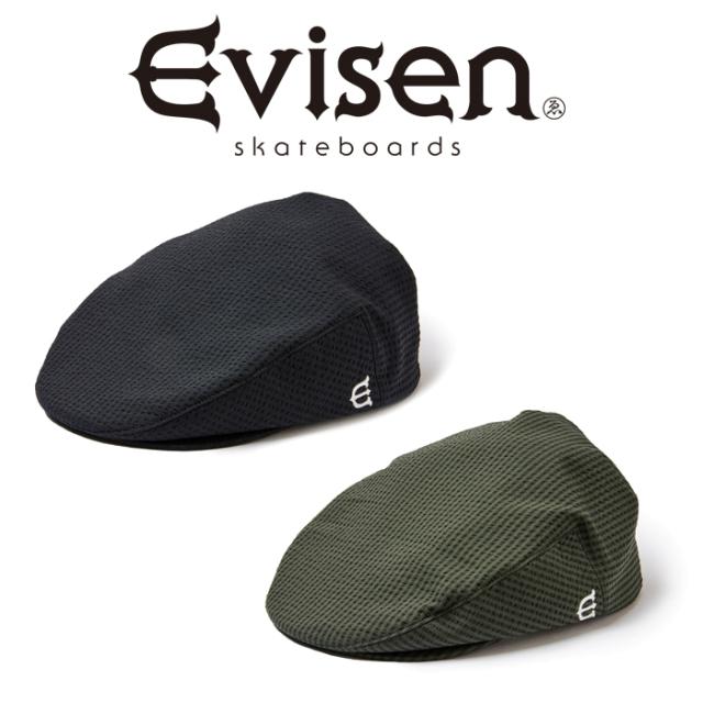 Evisen Skateboards (エヴィセン スケートボード) MALCOLM SUCKER HUNTING 【ハンチング キャップ 帽子】【エビセン スケートボー