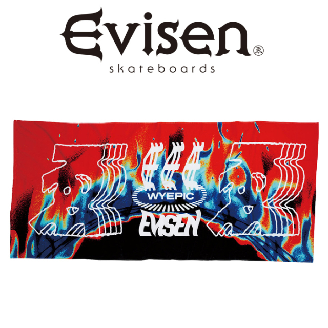 【SALE30%OFF】  【EVISEN】 Evisen Skateboards (エヴィセン スケートボード)  TASTY BEACH TOWEL  【タオル ビーチタオル アウ