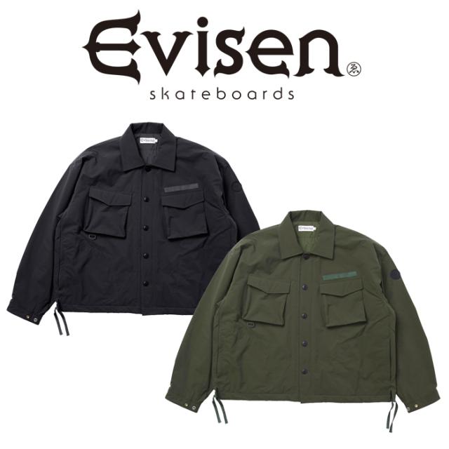 【EVISEN】 Evisen Skateboards (エヴィセン スケートボード)  KM-21   【ミリタリー ジャケット】【エビセン スケートボード Evis
