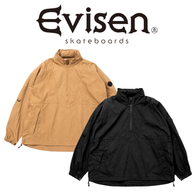 【EVISEN】 Evisen Skateboards (エヴィセン スケートボード)  HUE ANORAK   【アノラックジャケット】【エビセン スケートボード