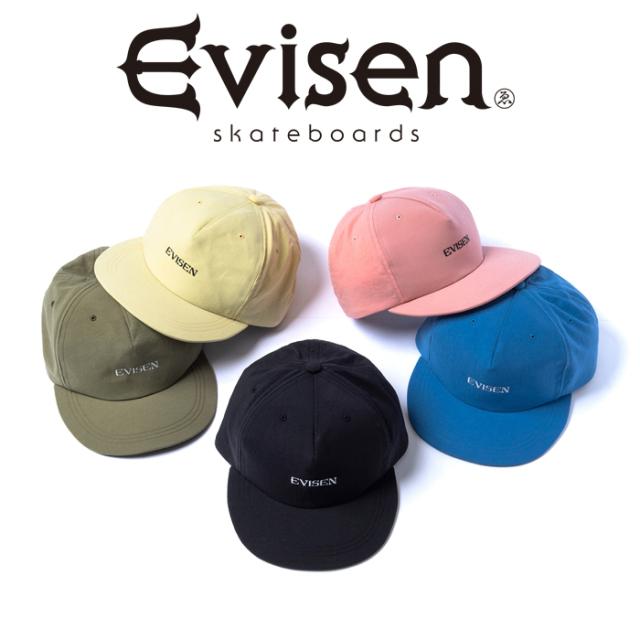 【EVISEN】 Evisen Skateboards (エヴィセン スケートボード)  ONION 5 PANEL  【キャップ 帽子】【エビセン スケートボード Evise