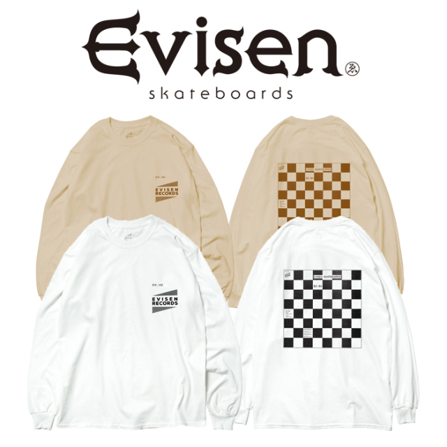 Evisen Skateboards (エヴィセン スケートボード) WYE2-WYE4 LS 【ロングスリーブTシャツ】【2020FALL&WINTER COLLECTION】【00004
