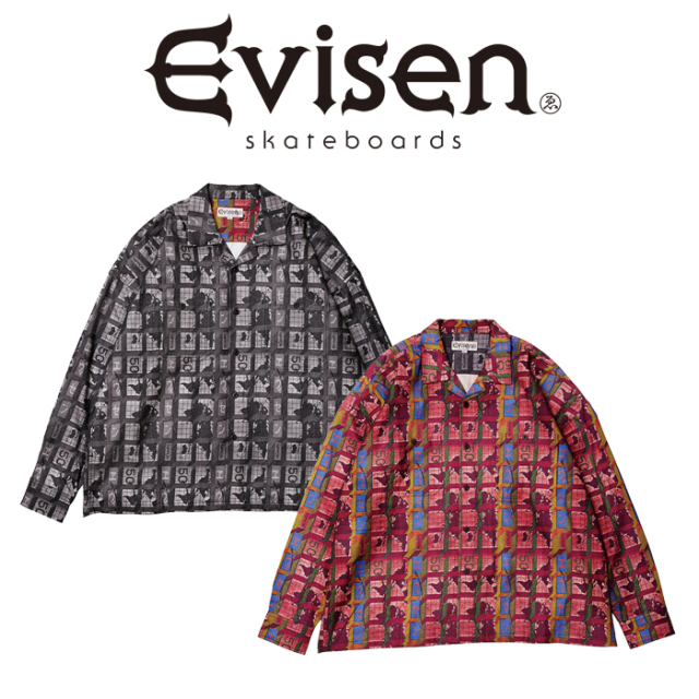 Evisen Skateboards (エヴィセン スケートボード) WORLD HALL FLANNEL SHIRT 【フランネルシャツ】【2020FALL&WINTER COLLECTION】