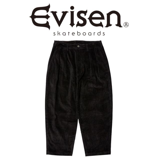 Evisen Skateboards (エヴィセン スケートボード) BOHEMIAN CORD PANTS 【コーデュロイ イージー パンツ】【2020FALL&WINTER COLLE
