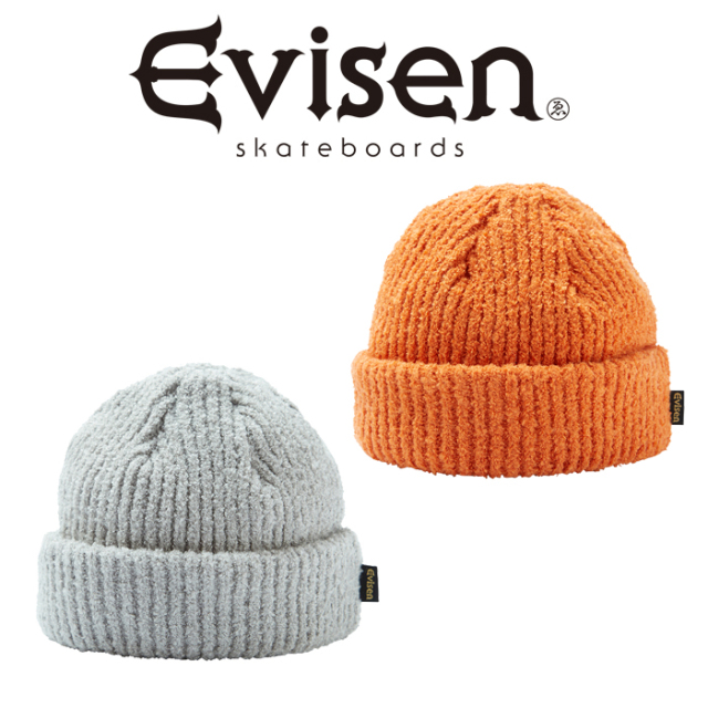 Evisen Skateboards (エヴィセン スケートボード) CREAM PUFF BEANIE 【ビーニー ニットキャップ 帽子】【2020FALL&WINTER COLLECT