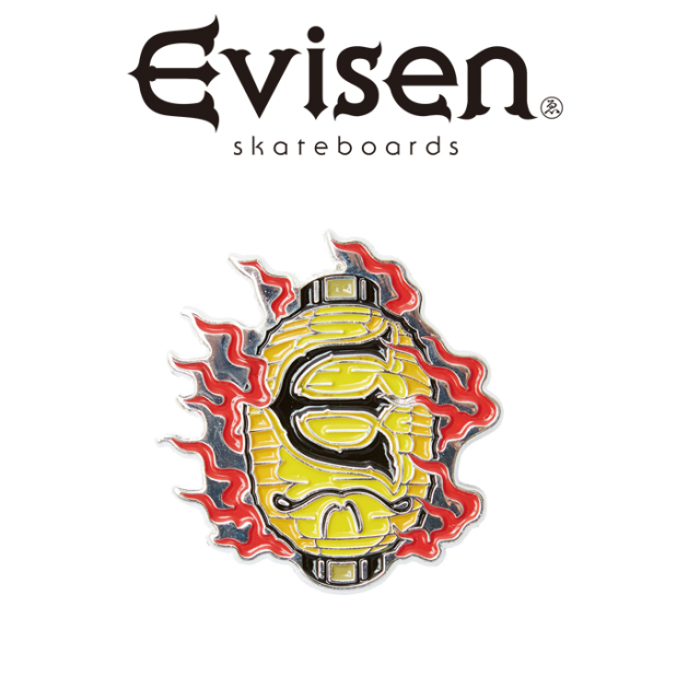 Evisen Skateboards (エヴィセン スケートボード) OBAKE PINS 【ピンズ】【2020FALL&WINTER COLLECTION】【00004823】