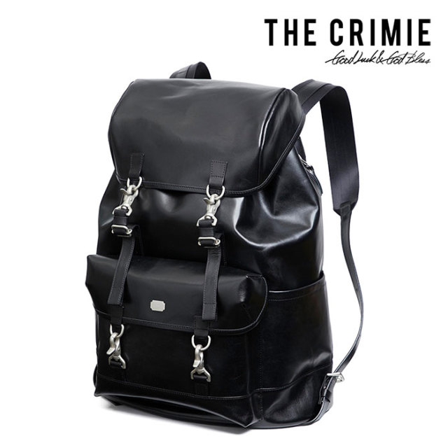 CRIMIE(クライミー) URBAN MILITARY LEATHER  BACKPACK 【2018AUTUMN/WINTER先行予約】 【キャンセル不可】【C1H5-AC01】