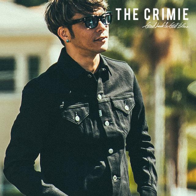 CRIMIE(クライミー) BORN FREE BLACK STRETCH DENIM JACKET 【2018AUTUMN/WINTER先行予約】 【キャンセル不可】【C1H5-BFJK-04】