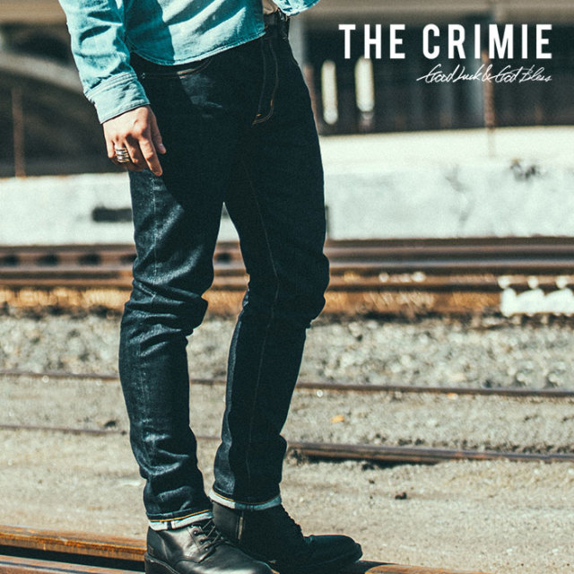 CRIMIE(クライミー) BORN FREE STRETCH SELVEDGE DENIM SLIM JEANS 【2018AUTUMN/WINTER先行予約】 【キャンセル不可】【C1H5-BFP