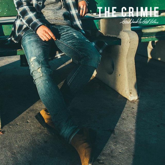 CRIMIE(クライミー) BORN FREE STRETCH SELVEDGE DENIM GARAGE USED SLIM JEANS 【2018AUTUMN/WINTER先行予約】 【キャンセル不可