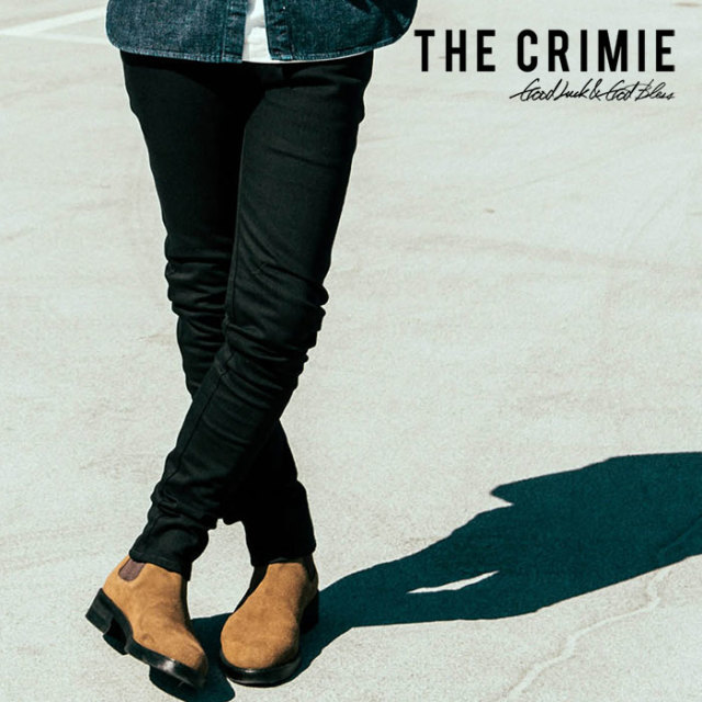 CRIMIE(クライミー) BORN FREE BLACK STRETCH DENIM JEANS 【2018AUTUMN/WINTER先行予約】 【キャンセル不可】【C1H5-BFPT-04】