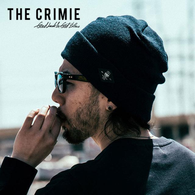 CRIMIE(クライミー) メンズ ニットキャップ  ビーニー アクリル100%【C1H5-CP01】 [フリーサイズ][ブラック ネイビー 黒 紺]カジ