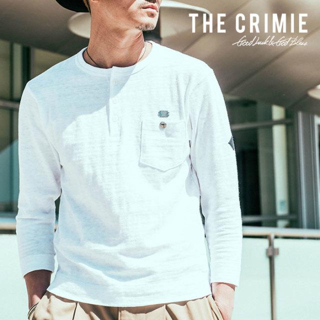 CRIMIE(クライミー) CS HENRLY NECK 8TH SHIRT 【2018AUTUMN/WINTER先行予約】 【キャンセル不可】【C1H5-CS01】