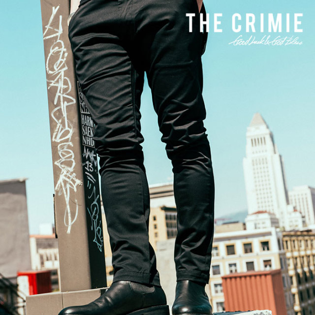 CRIMIE(クライミー) LEX STRETCH CHINO PANTS 【2018AUTUMN/WINTER先行予約】 【キャンセル不可】【C1H5-CXLX-PT01】