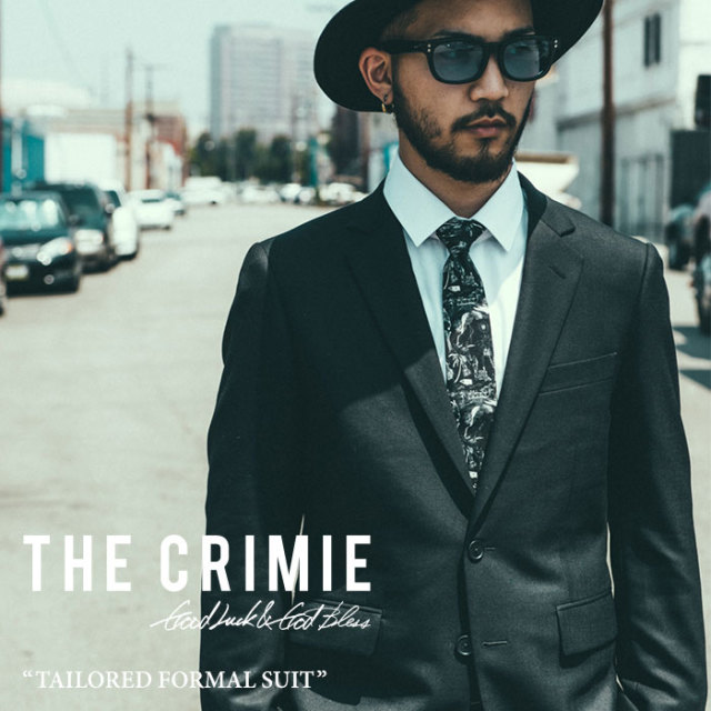 CRIMIE(クライミー) TAILORED FORMAL ALL SEASON SUIT 【2018A/W先行予約】 【送料無料】【キャンセル不可】 【C1H5-CXST02】
