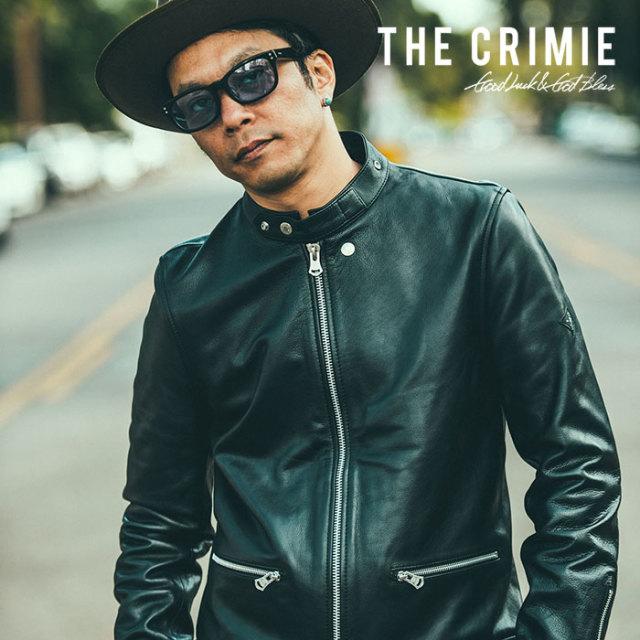 CRIMIE(クライミー) STAND COLLAR RIDERS LEATHER JACKET 【2018AUTUMN/WINTER先行予約】 【キャンセル不可】【C1H5-JK02】