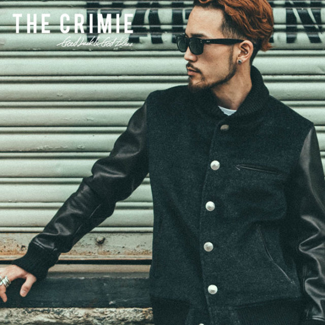 CRIMIE(クライミー) ALPACA AWARD JACKET 【2018AUTUMN/WINTER先行予約】 【キャンセル不可】【C1H5-JK03】