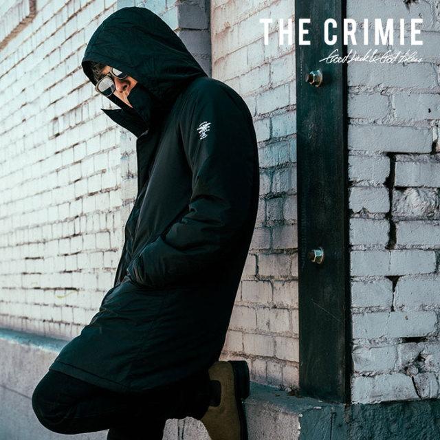 CRIMIE(クライミー) WATER RESISTANT 2WAY HOOD LONG COAT 【2018AUTUMN/WINTER先行予約】 【キャンセル不可】【C1H5-JK15】