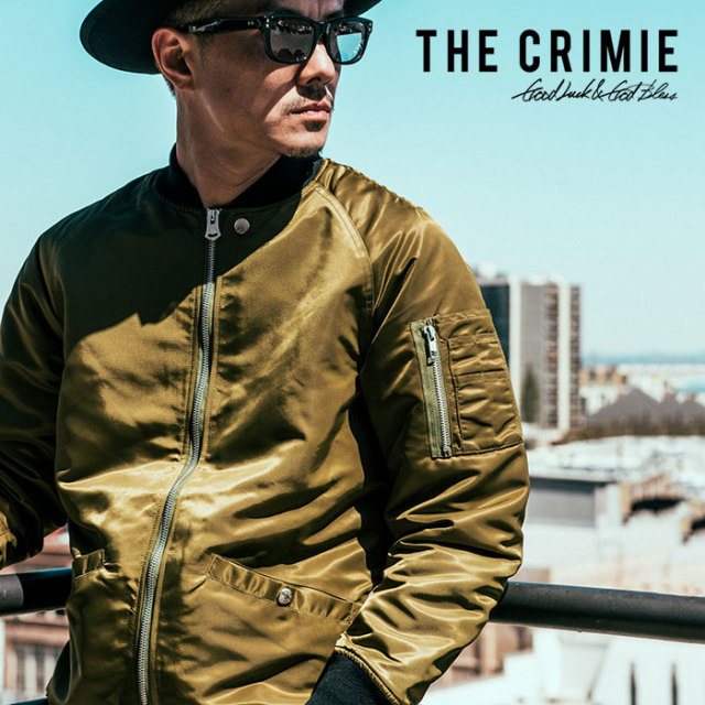 CRIMIE(クライミー) MA-1 JACKET 【2018AUTUMN/WINTER先行予約】 【キャンセル不可】【C1H5-JK21】