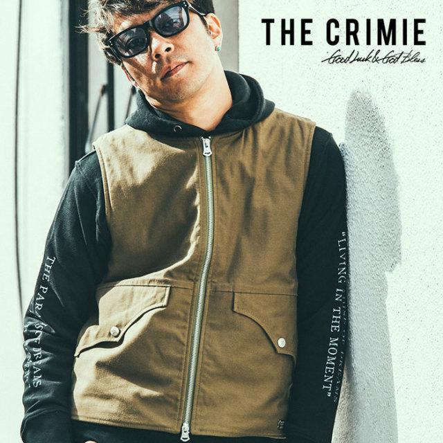 CRIMIE(クライミー) BACK SATIN VEST 【2018AUTUMN/WINTER先行予約】 【キャンセル不可】【C1H5-JK23】