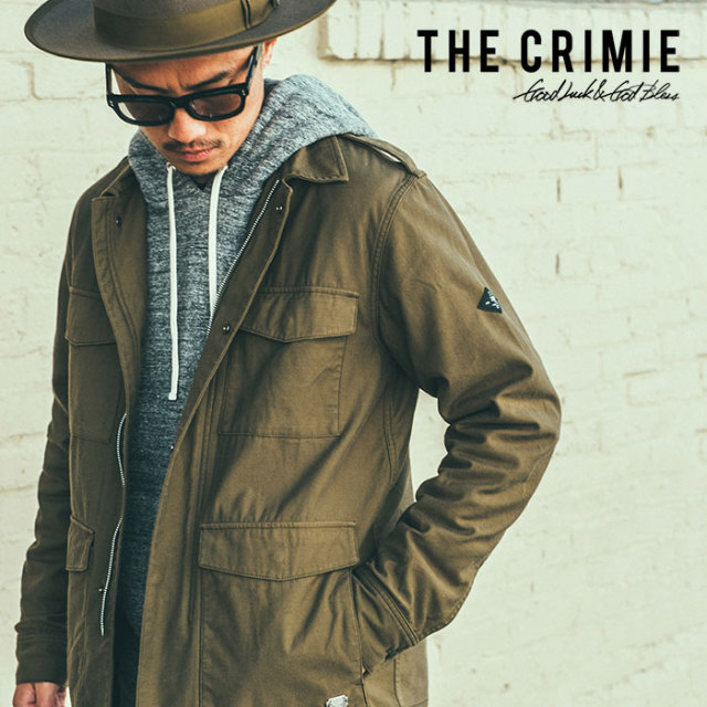 CRIMIE(クライミー) BACK SATIN SHIRT JACKET 【2018AUTUMN/WINTER先行予約】 【キャンセル不可】【C1H5-JK24】