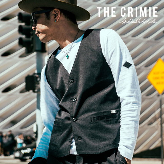 CRIMIE(クライミー) NEIL STRETCH VEST 【2018AUTUMN/WINTER先行予約】 【キャンセル不可】【C1H5-JK31】