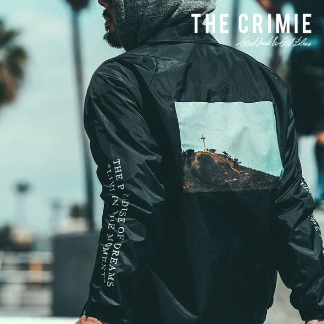 CRIMIE(クライミー) PHOTO COACHES JACKET 【2018AUTUMN/WINTER先行予約】 【キャンセル不可】【C1H5-JK32】
