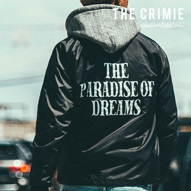 CRIMIE(クライミー) メンズ コーチ ジャケット ポリエステル100%【C1H5-JK33】[S M L XL][ブラック 黒] シンプル AUTUMN新作 秋冬 お