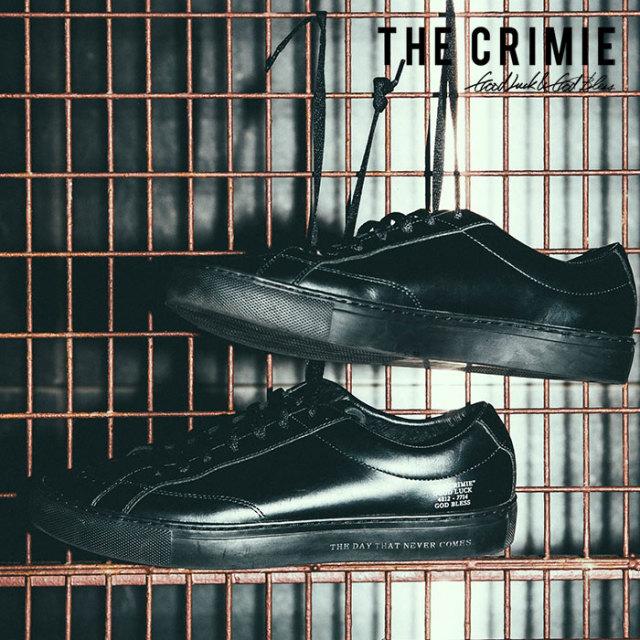 CRIMIE(クライミー) LEATHER MELROSE SNEAKER SHOES 【2018AUTUMN/WINTER先行予約】 【キャンセル不可】【C1H5-SB04】
