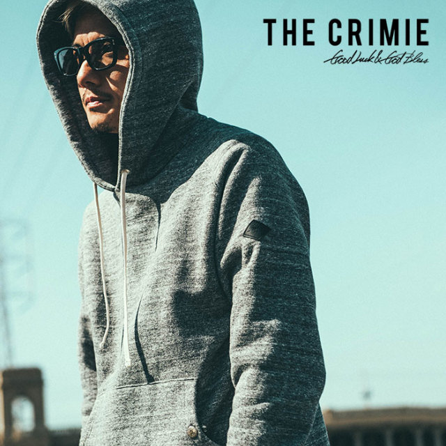 CRIMIE(クライミー) ORIGINAL TSURIAMI HOODED PULL OVER SWEAT PARKA 【2018AUTUMN/WINTER先行予約】 【キャンセル不可】【C1H5-