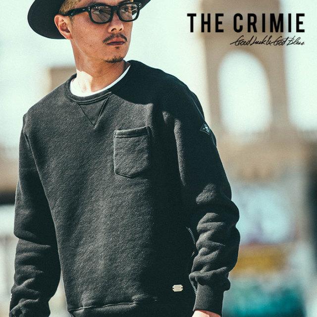 CRIMIE(クライミー) ORIGINAL SUPER HEAVY WEIGHT TSURIAMI CREW SWEAT SHIRT 【2018AUTUMN/WINTER先行予約】 【キャンセル不可】