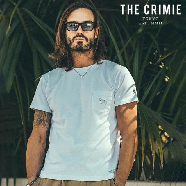 CRIMIE(クライミー) CR POCKET T-SHIRT 【ポケットTシャツ】【ブラック ホワイト アメカジ ミリタリー】【シンプル おしゃれ】【CR