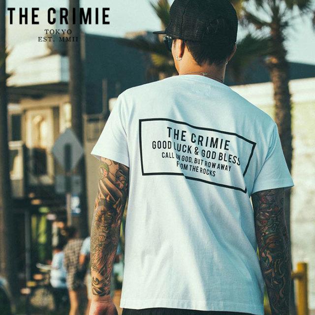 CRIMIE(クライミー) CR BOX LOGO POCKET T-SHIRT 【ポケットTシャツ】【ブラック ホワイト アメカジ ミリタリー】【シンプル おし