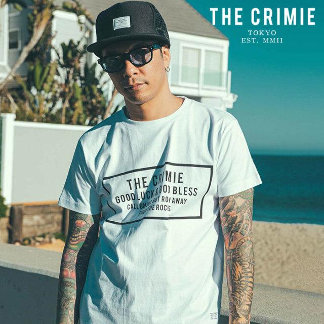 CRIMIE(クライミー) BOX LOGO T-SHIRT 【プリントTシャツ】【ブラック ホワイト アメカジ ミリタリー】【シンプル おしゃれ】【CR0