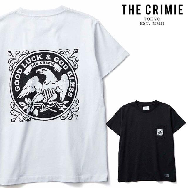 CRIMIE(クライミー) EAGLE POCKET T-SHIRT 【ポケットTシャツ】【ブラック ホワイト アメカジ ミリタリー】【シンプル おしゃれ】