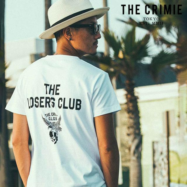 CRIMIE(クライミー) LOSERS CLUB POCKET T-SHIRT 【ポケットTシャツ】【ブラック ホワイト アメカジ ミリタリー】【シンプル おし