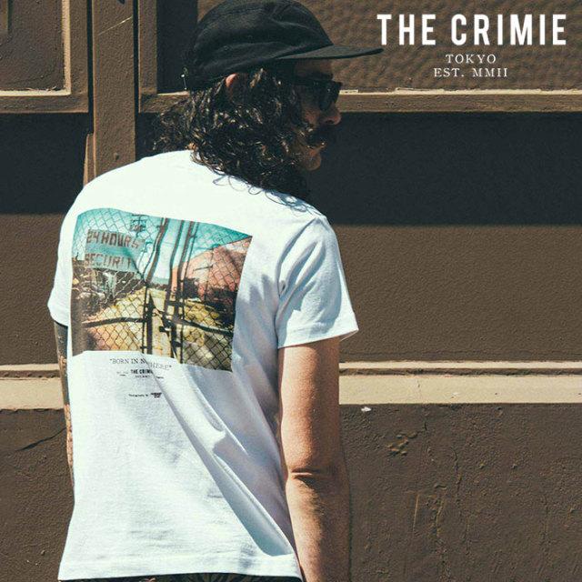CRIMIE(クライミー) PHOTO POCKET T-SHIRT 【フォトポケットTシャツ】【ホワイト アメカジ ミリタリー】【シンプル おしゃれ】【CR