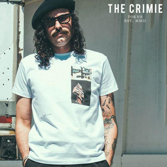CRIMIE(クライミー) PHOTO T-SHIRT 【フォトTシャツ】【ホワイト アメカジ ミリタリー】【シンプル おしゃれ】【CR01-02L1-TS09】