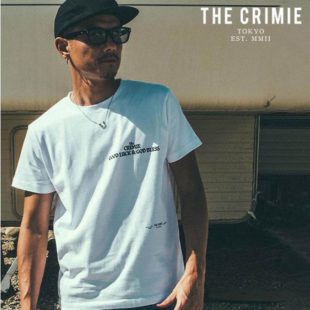 CRIMIE(クライミー) THE DAY T-SHIRT 【プリントTシャツ】【ブラック ホワイト アメカジ ミリタリー】【シンプル おしゃれ】【CR01