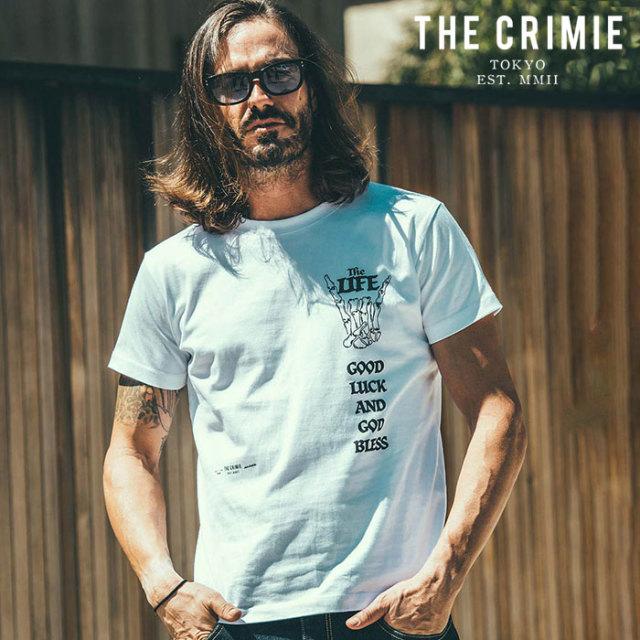 CRIMIE(クライミー) LOSERS CLUB T-SHIRT 【プリントTシャツ】【ブラック ホワイト アメカジ ミリタリー】【シンプル おしゃれ】【