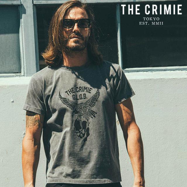 CRIMIE(クライミー) VINTAGE USED EAGLE T-SHIRT 【ユーズド Tシャツ】【ブラック アメカジ ミリタリー】【シンプル おしゃれ】【C