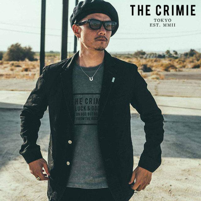 CRIMIE(クライミー) VINTAGE USED BOX LOGO T-SHIRT 【ユーズド Tシャツ】【ブラック アメカジ ミリタリー】【シンプル おしゃれ】