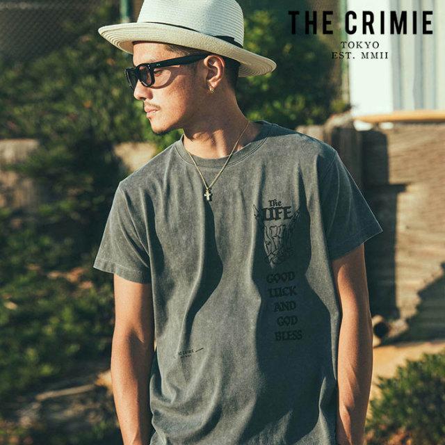 CRIMIE(クライミー) VINTAGE USED LOSERS CLUB T-SHIRT 【ユーズド Tシャツ】【ブラック アメカジ ミリタリー】【シンプル おしゃ