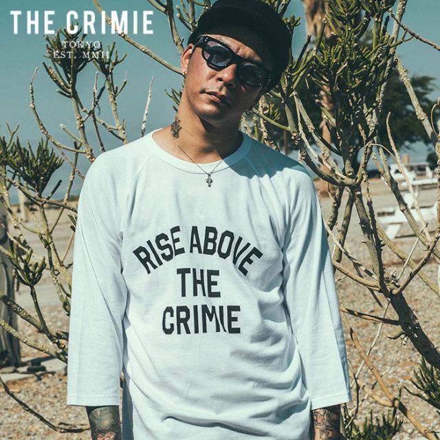 【SALE30%OFF】 CRIMIE(クライミー) RISE ABOVE 7TH SLEEVE T-SHIRT 【セール】【7分袖Tシャツ イーグル】【アメカジ ミリタリー