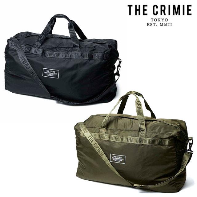 【SALE50%OFF】 CRIMIE(クライミー) PACKABLE BOSTON BAG 【パッカブル ボストン バッグ】【旅行 荷物 収納】【ブラック  カーキ