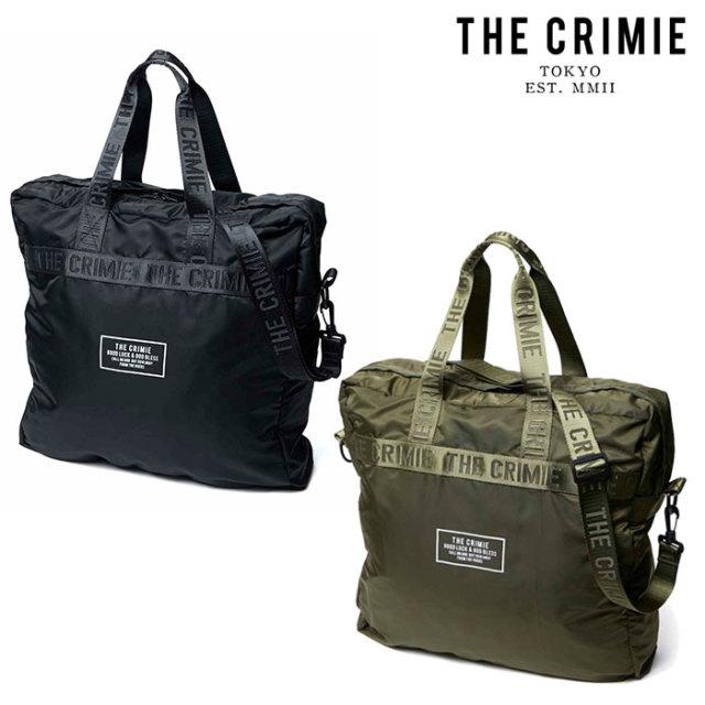 CRIMIE(クライミー) PACKABLE TOTE BAG 【パッカブル トートバッグ】【旅行 荷物 収納】【ブラック カーキ シンプル おしゃれ】【C