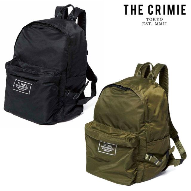 CRIMIE(クライミー) PACKABLE DAY BAG 【パッカブルデイバッグ】【旅行 荷物 収納】【ブラック カーキ シンプル おしゃれ】【CRA1-