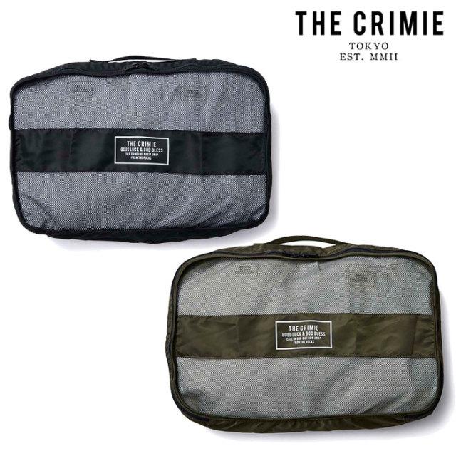 CRIMIE(クライミー) ORGANIZER BAG 【オーガナイザーバッグ】【ブラック カーキ】【シンプル おしゃれ】【CRA1-WBTR-BG04】【2020S