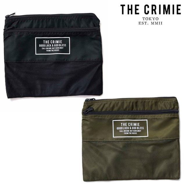 CRIMIE(クライミー) ORGANIZER POUCH BAG 【オーガナイザーポーチ】【ブラック カーキ】【シンプル おしゃれ】【CRA1-WBTR-BG05】